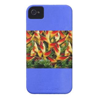 L'huile bleue a peint la bande do-it-yourself de étuis iPhone 4