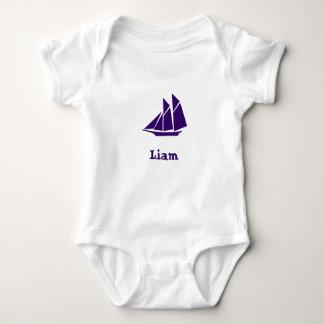 Liam Boot Baby Strampler