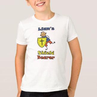 """Liam der T - Shirt des Schild-Träger-"" Kindes"