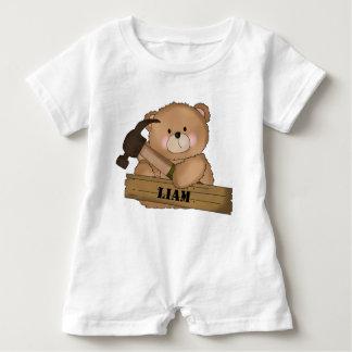 Liam Erbauer-Bärn-personalisierte Geschenke Baby Strampler
