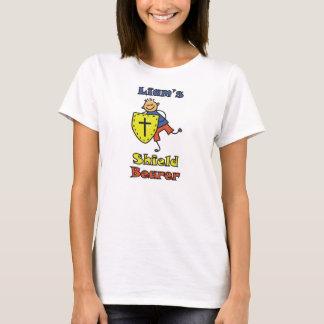 """""""Liam T - Shirt Schild-Träger-"""" Dame"""