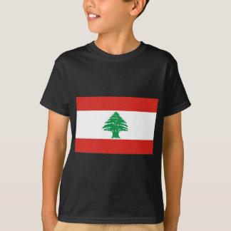 Libanesische Flagge T-Shirt