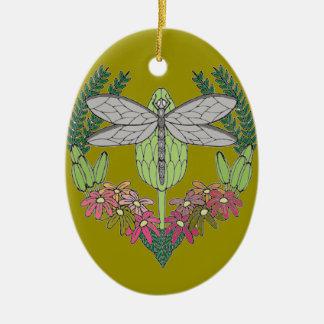 Libelle Keramik Ornament