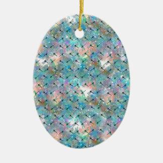 Libellen-Galaxie Keramik Ornament