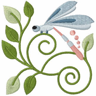 Libellen-GartenHoodie Kapuzenpulli