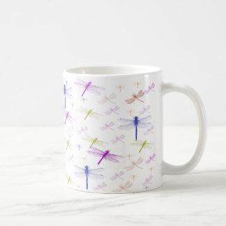 Libellen-Muster-Tasse Kaffeetasse