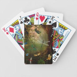 Libellen-Spielplatz Bicycle Spielkarten