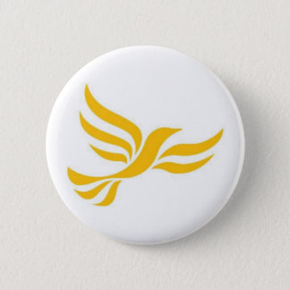 Liberaler Demokrat-Party-Logo Runder Button 5,7 Cm