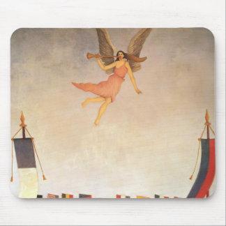 Liberté de Henri Rousseau- invitant à l'exposition Tapis De Souris