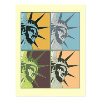 Liberté Etats-Unis Carte Postale