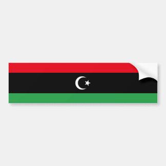 Libyen-Flagge Autoaufkleber