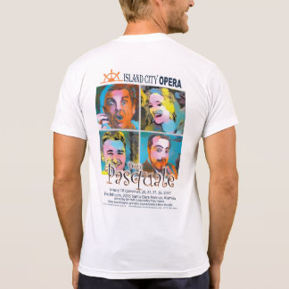 Licht das T-Shirt Männer Insel-Stadt-Opern-Dons