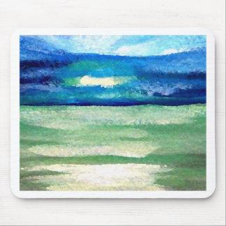 Licht des Meer- CricketDiane Ozean Kunst-Produkte Mousepad