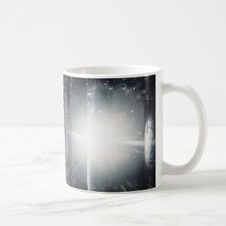 Licht im Wald Kaffeetasse