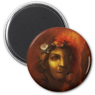 Licht und Digital-Collage der Dunkelheits-2 durch Runder Magnet 5,1 Cm