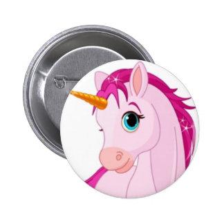 Licorne Badge Rond 5 Cm