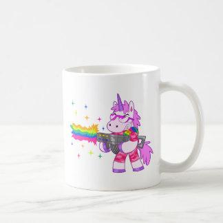 Licorne pourpre - arme à feu mug