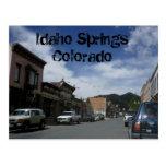 L'Idaho jaillit carte postale