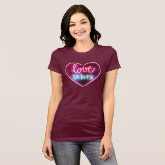 Liebe 24 Stunden T-Shirt