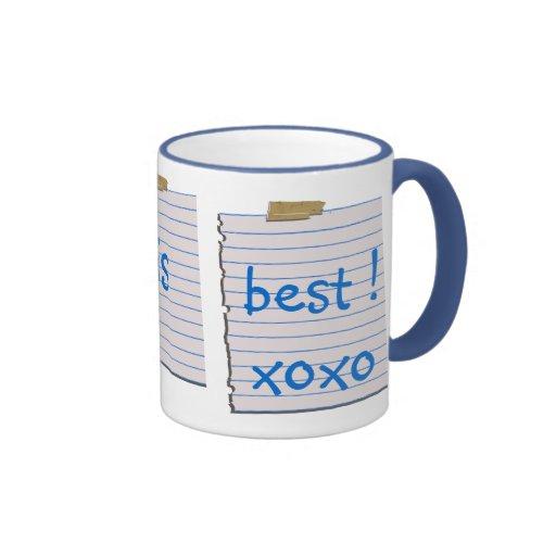 Liebe-Anmerkungen für Vati-Tasse