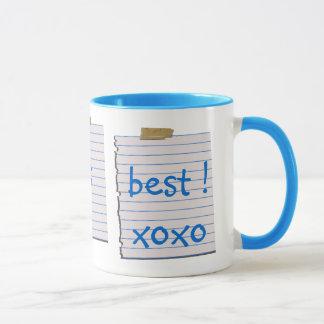 Liebe-Anmerkungen für Vati-Tasse Tasse