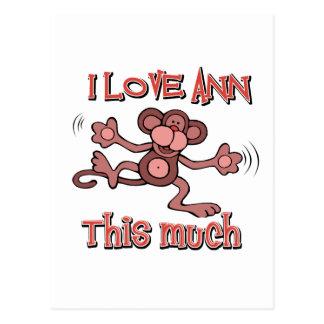 Liebe Ann Postkarte