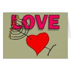 Liebe auf Chanukah 101 Karte
