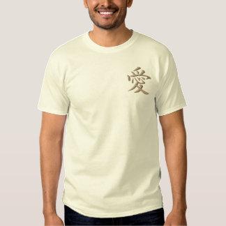 Liebe Besticktes T-Shirt