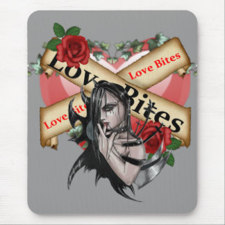 Liebe-Bisse - Mousepad