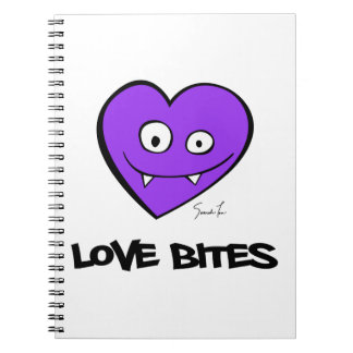 Liebe-Bisse Notizbücher