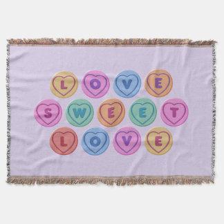 Liebe-Bonbon-Liebe Decke