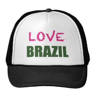 Liebe Brasilien Netzmütze