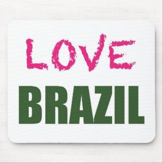 Liebe Brasilien Mauspad