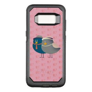 Liebe-Cartoon-Vogel-lustiges niedliches Retro OtterBox Commuter Samsung Galaxy S8 Hülle