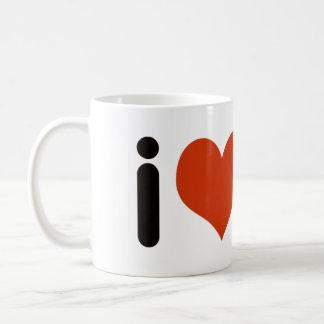 Liebe der Liebe I - Herzen Kaffeetasse