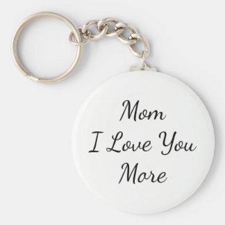 Liebe der Mamma-I Sie mehr Schlüsselanhänger