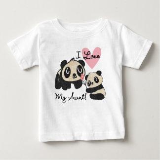 Liebe der Panda-I meine Tante Baby T-shirt