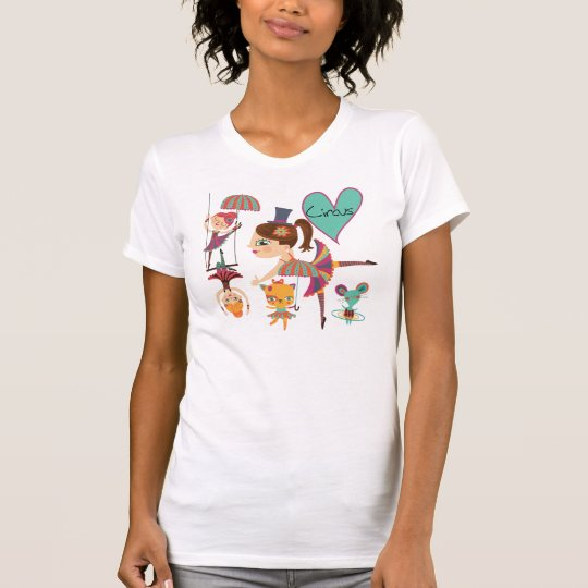 Liebe der Zirkus-T - Shirt