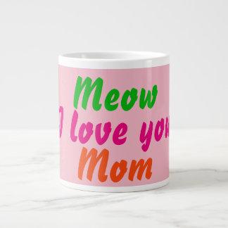 Liebe des Meow-I Sie Mamma-Kaffee-Tee-Tassen Jumbo-Mug