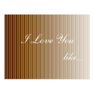 Liebe des Valentines Tagesmögen Sie Postkarte