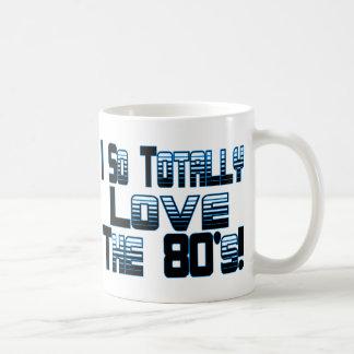 Liebe die Achtzigerjahre Kaffeetasse
