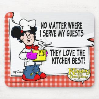 Liebe die Küche am besten Mousepad