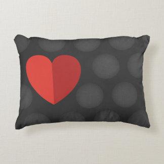 Liebe, die Sie mit Herzen Pillow Zierkissen