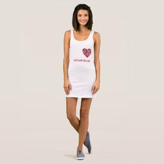 Liebe, die Sie sind Ärmelloses Kleid
