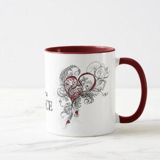 Liebe, die Tasse zu tanzen (kundengerecht)