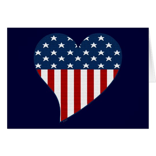Liebe die USA Karte