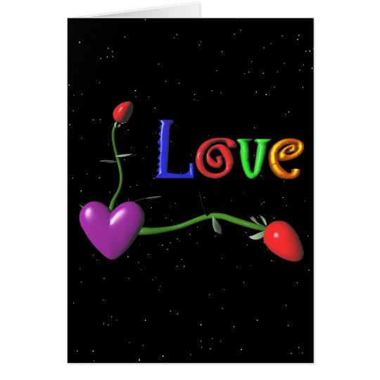 Liebe - ein Valentine für jeden Tag Karte
