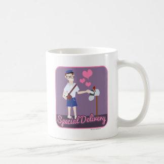 Liebe eine spezielle Lieferung Kaffeetasse