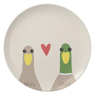Liebe-Enten Essteller