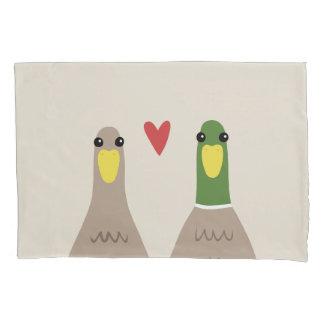 Liebe-Enten Kissenbezug